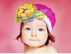 Crochet toddler hat