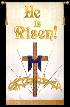 Easter 2011 - He is Risen! - Christian Banners for Praise and Worship