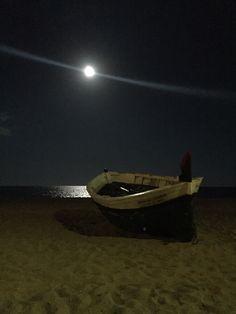 Luna llena en Badalona