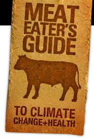 meat eater's guide to environment and health - eat less meat, less dairy, and more plants to save the environment and improve your health #vegetarian #meatless