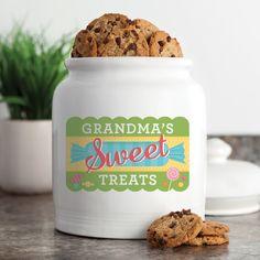 Sweet Treats Personalized Treat Jar - Treat Jars   Personalized Planet