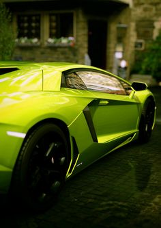 Stylish Lime Green Lamborghini Aventador! Click on the pic & sign up today to win a chance to drive this exquisite car.