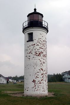 Where my great grandfather Owen McCauley was a lighthouse keeper.  Beaver Island Harbor (St. James) Lighthouse,