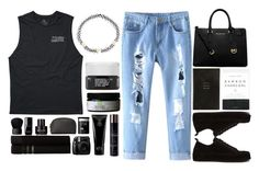 """""""5:17 p.m"""" by ashola18 ❤ liked on Polyvore featuring Billabong, MICHAEL Michael Kors, Smythson, Herbivore Botanicals, Ann Demeulemeester, Monsoon, Korres, NARS Cosmetics, Chanel and Kenneth Cole"""