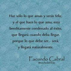 Maravillosas frases de Facundo Cabral - Buena Vibra