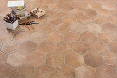 Gres porcellanato esagonale rustico effetto cotto esagonale 18,90 €/mq (tasse escl.) http://www.italiangres.com/it/gres-porcellanato-rustico/339-gres-porcellanato-rustico-manoir-cotto-182x21.html