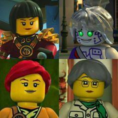 All the main girls from ninjago