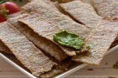 Provereni recepti. Cooks and Bakes: Krekeri od prosa a la tortilja čips