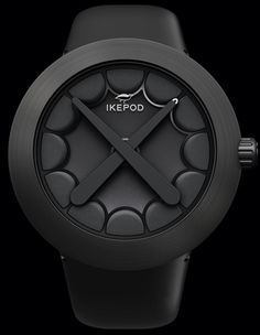 Ikepod KAWS with black dial