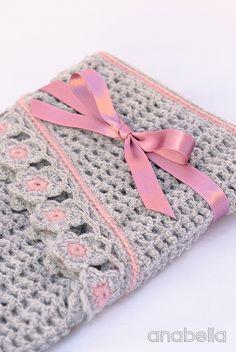 Helena crochet scarf, PDF pattern