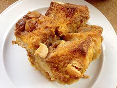 Pumpkin White Chocolate Bread Pudding Recipe