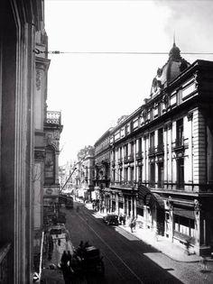 İstiklal Caddesi Tokatlıyan Oteli (1920'li yıllar) #Beyoğlu #istanbul