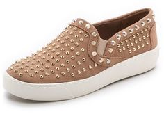 5619b425e5b299 Sam Edelman Braxton Studded Slip On Sneakers Skate Shoes