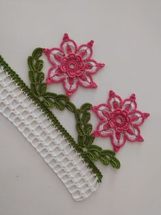 magnificent beauty - Huzur Sokağı (Hobbies Worth Living) Best Picture For jewelry crafts For Your Taste You are look - Crochet Lace Edging, Crochet Stitches, Diy Earrings, Crochet Earrings, Baby Knitting Patterns, Crochet Patterns, Monogram Jewelry, Bracelet Tutorial, Crochet Home
