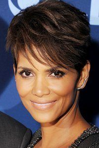 If you want to update your style for summer, then take inspiration from Halle Berry's pretty crop. Choppy layers teamed with a feathered fringe help give instant height.