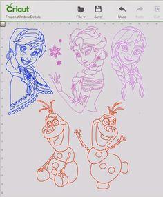 Frozen Cricut Design Space File to share!