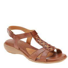Naturalizer Capricorn T-Strap Sandals :: Casual Sandals :: Shop now with FootSmart