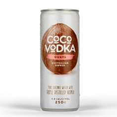 Coco Vodka is a Tropical Drink That Combines Coconut Water and Vodka #premixed #alcohol trendhunter.com