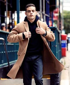 Rami Malek photographed by Taylor...