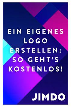 Ein eigenes Logo zu erstellen muss nicht schwer sein. Mit Jimdo kannst du ein eigenes Firmenlogo entwerfen, downloaden und auf deiner Website nutzen. Das Ganze funktioniert kostenlos. Du willst dein Logo jetzt entwerfen? Klicke hier, um zu unserem Logo Creator zu gelangen. Web Design, Logo Design, Blog, The Creator, Calm, Artwork, Create Own Logo, Create Business Cards, Create Logos