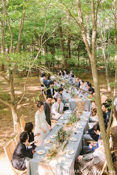 karuizawa garden Wedding_ハワイウエディング_produced by AYANO TACHIHARA Wedding Design 軽井沢ガーデンウエディング、邸宅ウエディング,森の中