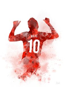 Sadio Mane by My Inspiration Liverpool Team, Mane Liverpool, Lfc Wallpaper, Liverpool Fc Wallpaper, Liverpool Wallpapers, Football Art, Football Players, Alabama Football, American Football