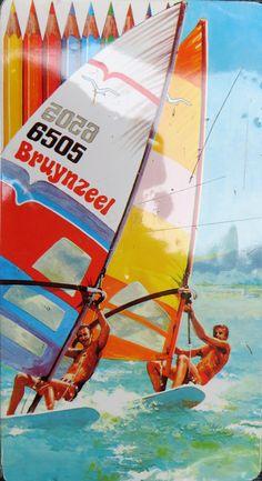 Bruynzeel 6505M12 2 windsurfers