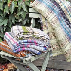 Delightful Living Checked Recycled Wool Blanket Or Picnic Rug ($29) ❤ liked on Polyvore featuring home, rugs, picnic rug, recycled rugs, wool rugs and wool area rugs