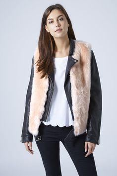 Luxe Boxy Faux Fur Gilet
