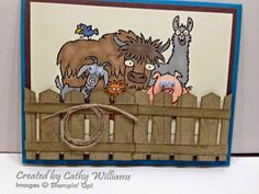 Inking It Up With Cathy: From the Herd - A Twist on Last Week's Card