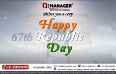 Q-Manager wishes for Nation's success, peace and safety...Wishing you all a very Happy Republic Day