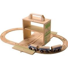 Handy portable train set for my daughter, and sold in the UK this time:)