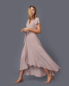 The Autumn Dress Pale Pink