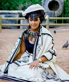 South African Traditional Dresses, African Traditional Wedding, Traditional Wedding Dresses, Traditional Fashion, Traditional Outfits, African Wear Dresses, African Attire, African Print Pants, African Prints