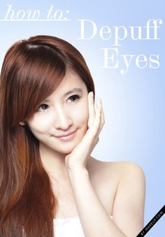 how to prevent and treat puffy eyes // great beauty tips!