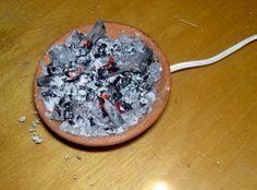 Foro de Belenismo - Paso a paso -> Otra manera de hacer el fuego.