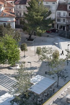 Built by NFO in Crikvenica, Croatia with date 2013. Images by Ivan Dorotić. The public competition for regulation of the center of Crikvenica was announced in 2011. and the first phase of the p...
