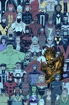 Loving my Groot, Marvel