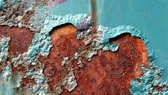 rust coming to the surface