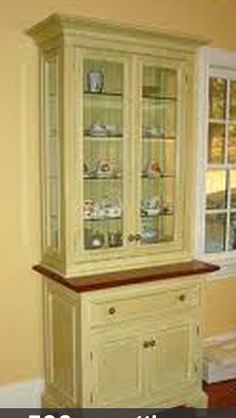 Paint hutch and put reclaimed top on