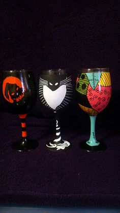 Nightmare Before Christmas Cups!!