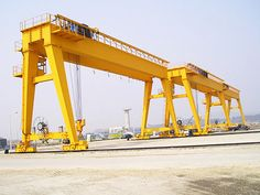 Outdoor gantry crane is widely used in port, quay, freight yard and construction site etc. Cranes For Sale, Gantry Crane, Road Construction, Rubber Tires, Electrical Wiring, Superior Quality, Golden Gate Bridge, High Quality Images, Pergola