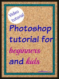 Photoshop tutorial for beginners and kids! This video tutorial by an eight year old will explain how to use brush tool to create a burger!