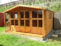Garden Sheds 3x2 avon 7' x 5' traditional summer house http://www.sheds.co.uk