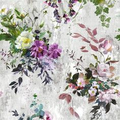 Aubriet - Amethyst fabric, from the Jardin des Plantes collection by Designers…