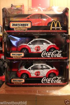 New-Matchbox-1-18-VW-Beetle-McDonalds-Coca-Cola-Series-First-Up-Has-Choice