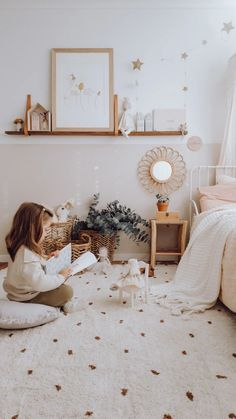 Fine Deco Chambre Vintage that you must know, You?re in good company if you?re looking for Deco Chambre Vintage Baby Room Design, Baby Room Decor, Bedroom Decor, Bedroom Rugs, Design Bedroom, Design Girl, Bedroom Furniture, Bedroom Vintage, Vintage Girls Rooms