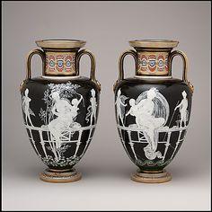 1870 British Vases at the Metropolitan Museum of Art, New York
