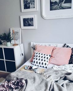 light gray bedroom walls