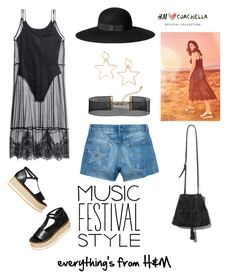 """Coachella meets H&M"" by kikiwiii ❤ liked on Polyvore featuring H&M"